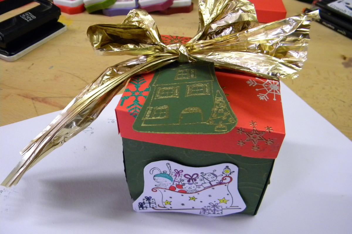 7. Vánoční krabička