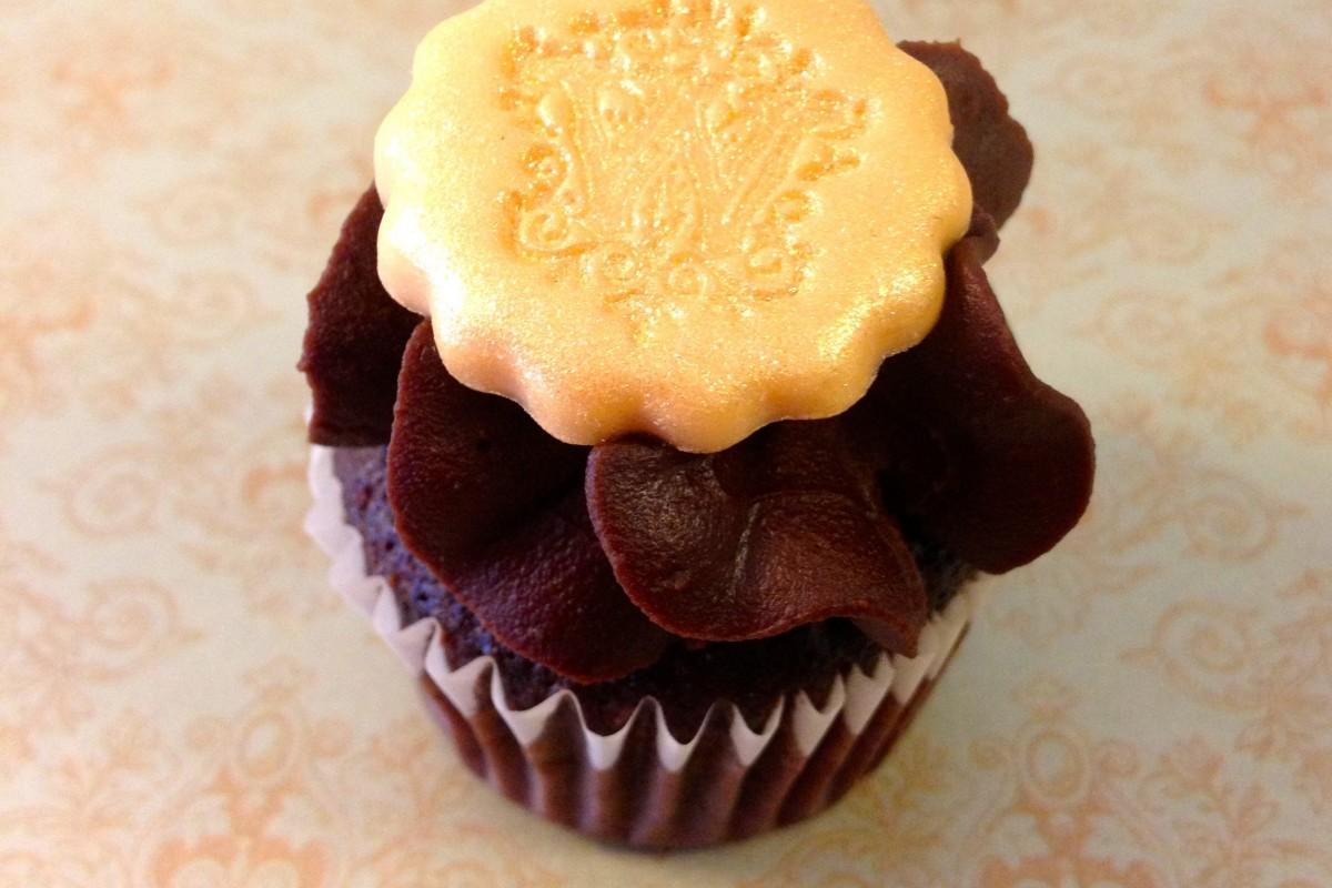 Cupcakes s voskovými pečetěmi