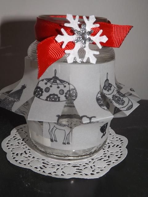 23. Vánoční lurecnička ze skleničky