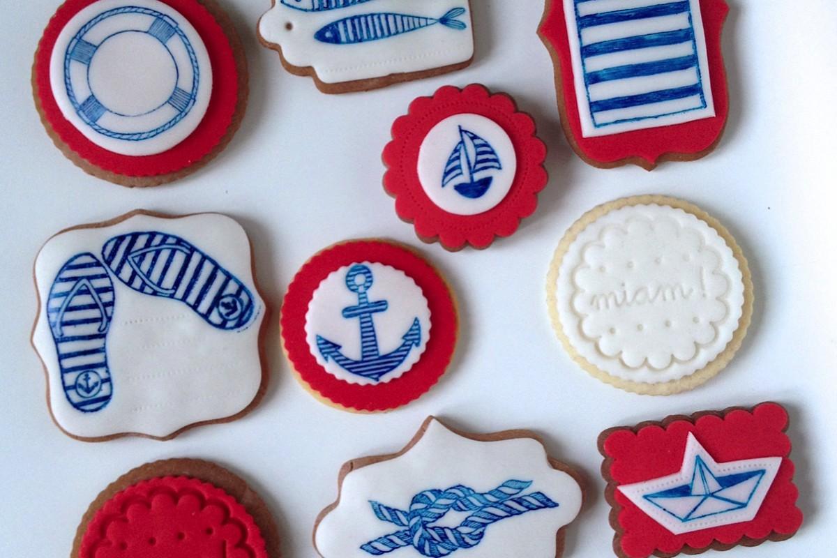 Marina sušenky a perníčky na záhradní párty