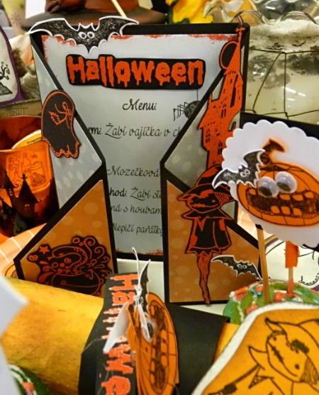 Menu aneb strašidelný jídelní lístek na Halloweenský rej