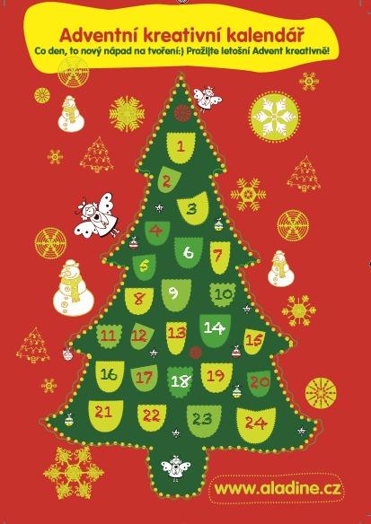 Adventní kalendář nápadů na vánoční tvoření