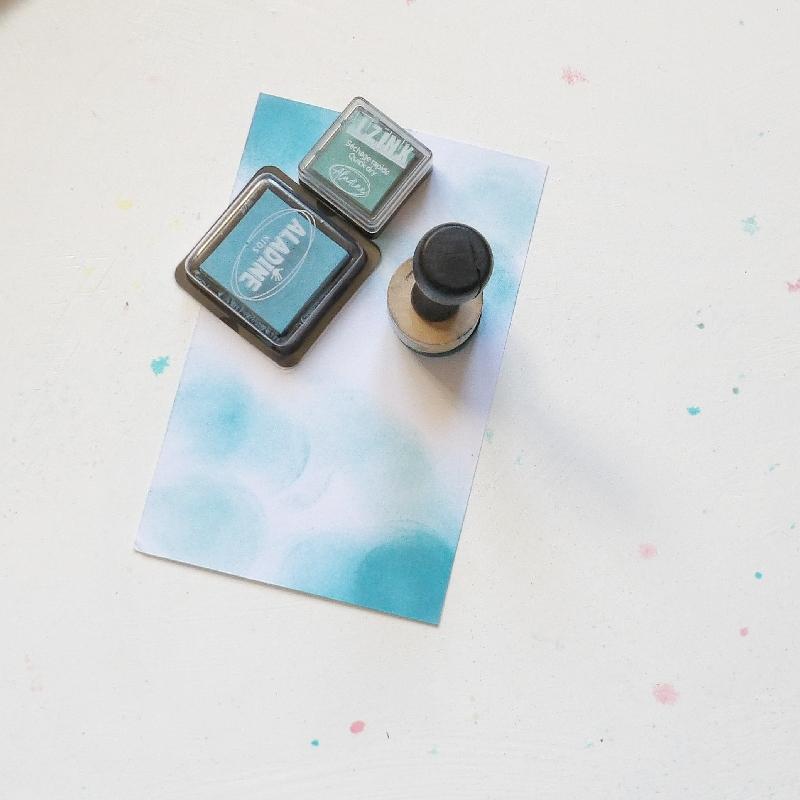 Nanesení barvy na omalovánky