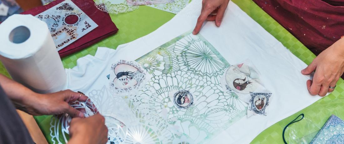 Textilní kurzy Ireny Apták slavíkové