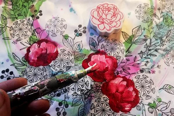 Domalování růží