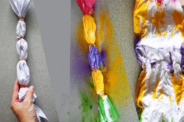 Skládání batiky